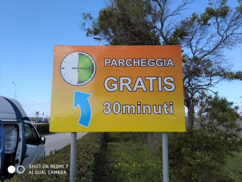 Novità per i viaggiatori all'Aeroporto di Trapani: parcheggio gratuito per 30 minuti
