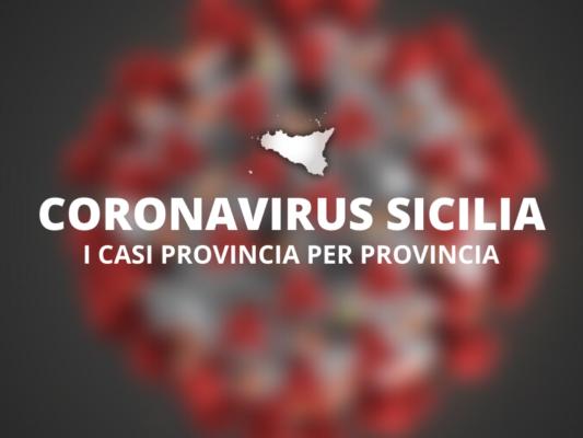 Contagi in Sicilia, si accende una speranza: ecco i casi in ogni singola provincia