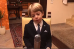 """Sicilia, compleanno in quarantena per un bimbo di 6 anni: """"Non sembro Giuseppe Conte?"""""""