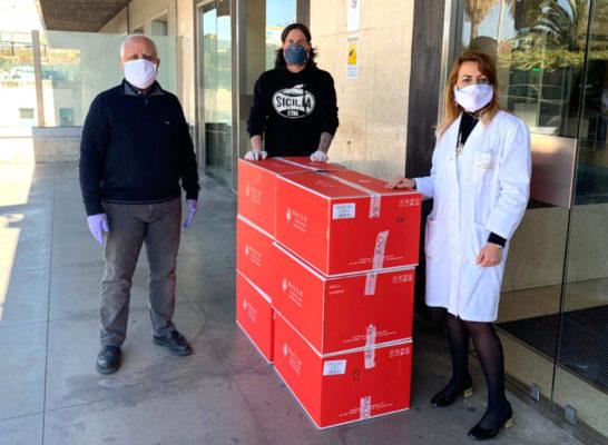 Solidarietà all'ospedale Garibaldi di Catania: numerosi doni pasquali per i pazienti ricoverati