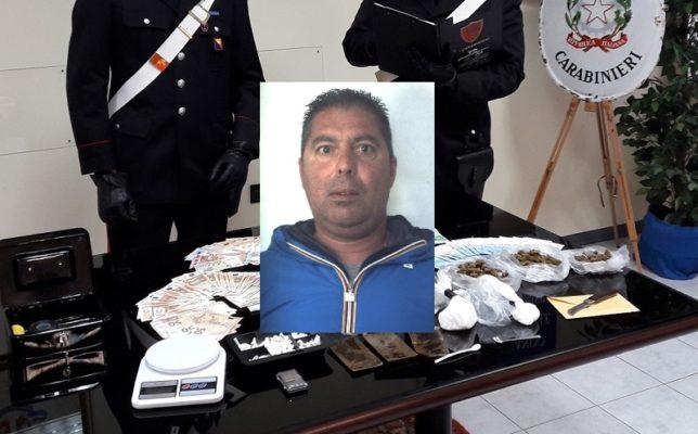 Trovato in possesso di eroina e hashish, in giro per la città senza valido motivo: arrestato e sanzionato 46enne