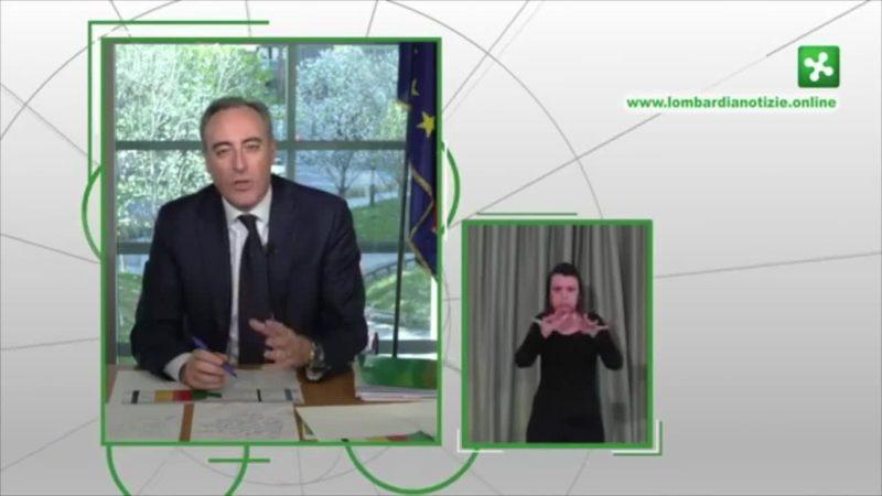 """Coronavirus, Gallera: """"In Lombardia una bomba atomica, nessuno come noi"""""""