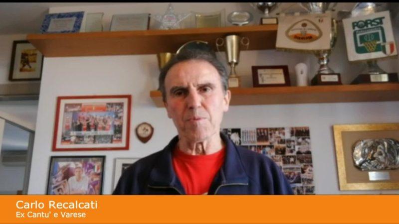 Recalcati 'chiama' Varese e Cantu' al derby della solidarieta'