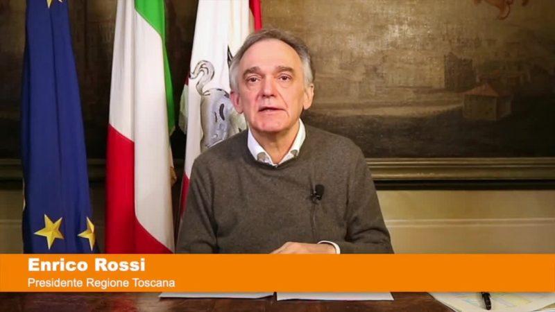 "Coronavirus, Rossi: ""In Toscana test rapidi per categorie a rischio"""