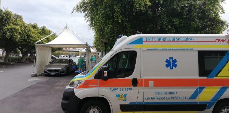 Misericordie in azione nel Catanese: migliaia di tamponi e assistenza – FOTO e VIDEO