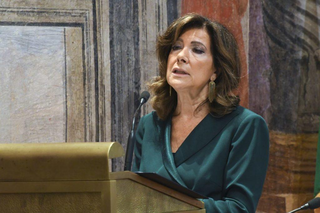 """Casellati """"C'e' rischio che la mafia faccia da banca, Stato intervenga"""""""
