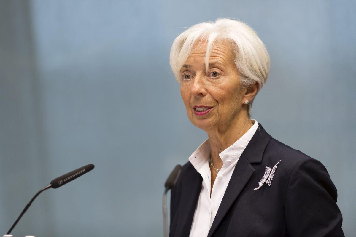 """Lagarde """"Il Covid-19 non provochera' una crisi dell'Euro"""""""