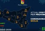 Regione Siciliana, i DATI dell'emergenza: Catania sotto i 600, l'aggiornamento per ogni provincia
