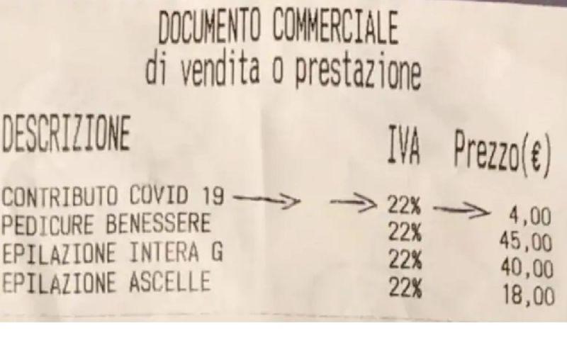 """""""Tassa Covid"""", da 2 a 4 euro in più negli scontrini di parrucchieri e centri estetici"""