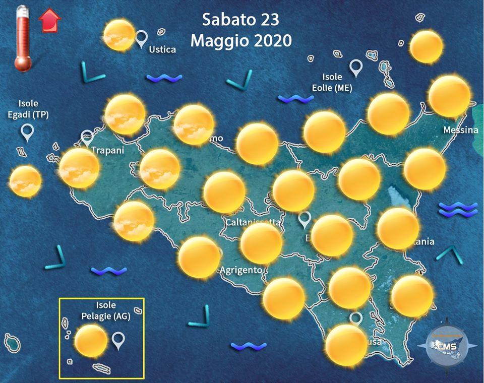 Meteo, weekend all'insegna del bel tempo: estate sempre più vicina, temperature in aumento