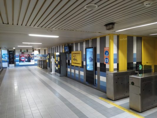 """Metropolitana riaperta a Catania, affluenza non ancora alta. Lo Schiavo: """"Abbiamo dato un contributo alla collettività"""""""
