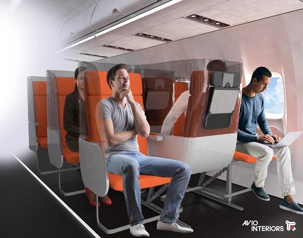 """Rivoluzione per aerei e treni, dai divisori ai sedili invertiti: l'inizio di una """"nuova era""""?"""