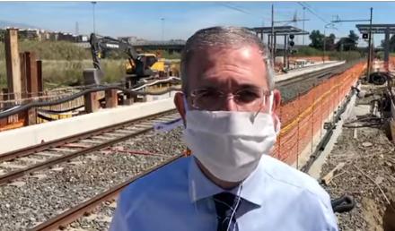 """Catania, ripresi i lavori per realizzare la fermata ferroviaria di Fontanarossa: """"In funzione entro fine anno"""""""