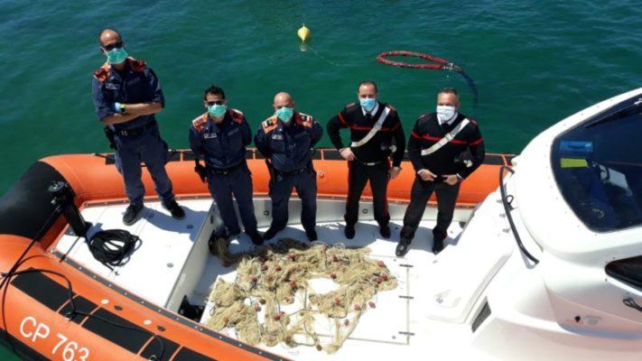 Sorpresi a pescare a bordo di un natante in zona interdetta: sanzionati 4 contravventori