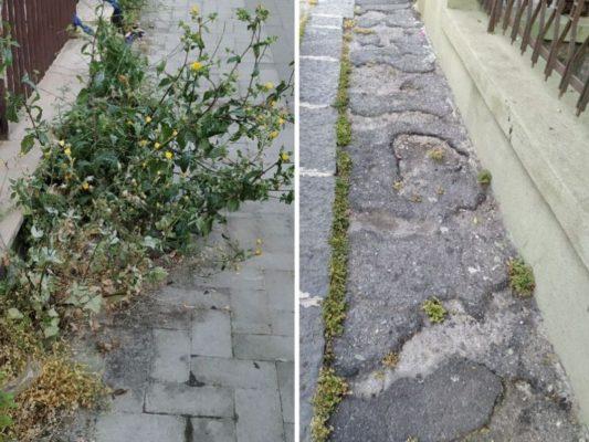 """A Catania """"marciapiedi impraticabile e pericolosi"""": la denuncia del Comitato Vulcania – FOTO"""