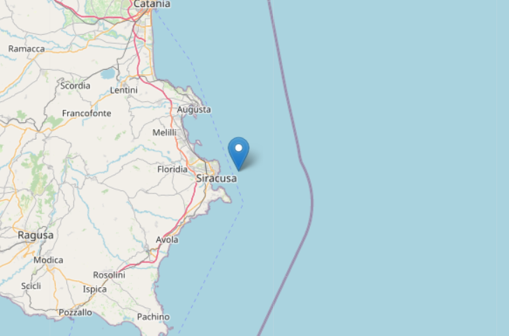 Doppia scossa di terremoto, sisma avvertito dalla popolazione locale: epicentro poco lontano dalla costa