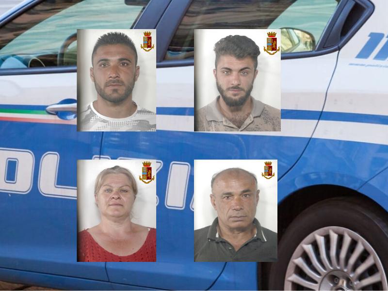 Raid punitivo nel Catanese con pistola, ascia e spranga di ferro: 4 arresti per tentato omicidio – NOMI e FOTO