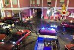 Vigili del fuoco Siracusa, festa per l'ultimo turno di servizio del capo reparto Ferreri – FOTO