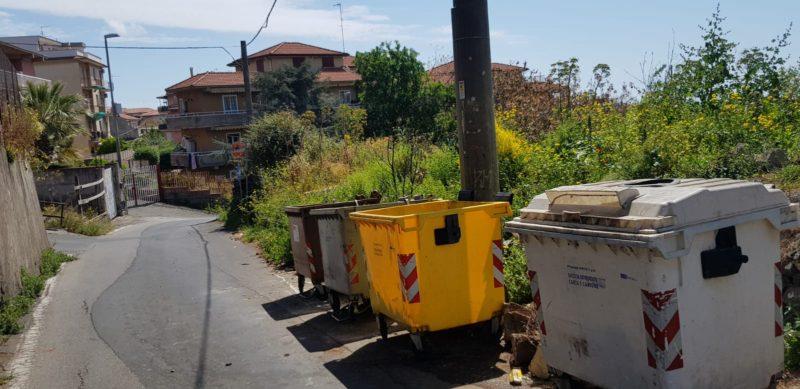 """""""Intere strade in stato di emergenza"""", problema cassonetti nel IV municipio di Catania: le richieste del consigliere Zingale"""