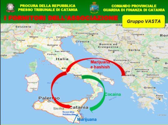 """Operazione """"Shoes"""" a Catania, nomi dei brand per smerciare la droga: """"stroncati"""" due sodalizi di Cosa Nostra. I DETTAGLI"""