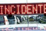 Impatto tra 4 veicoli sulla A20, momenti di paura e feriti: polizia sul posto