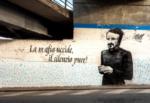 Catania e la legalità, il murales di Peppino Impastato torna a nuova vita