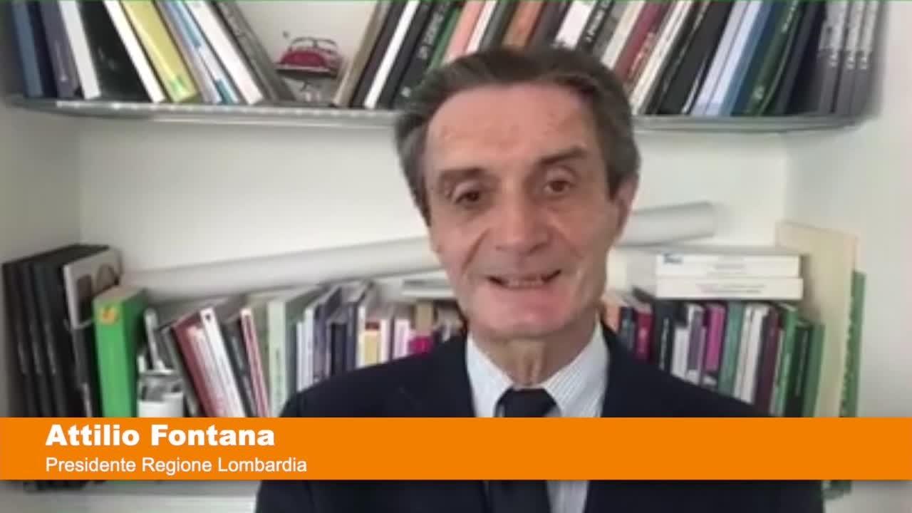 """Fontana """"Convinto che dal 3 giugno lombardi liberi di circolare in tutta Italia"""""""