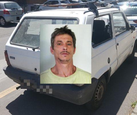 Catania, rompe il finestrino di un'auto e tenta il furto: arrestato 42enne pregiudicato