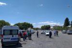 Smantellato mercato abusivo a San Giuseppe La Rena: area occupata da 200 venditori – FOTO