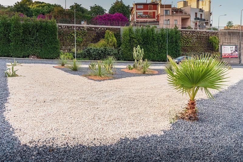 Catania, riqualificati svincoli circonvallazione per il Tondo Gioeni: allargato anche il giardino verticale