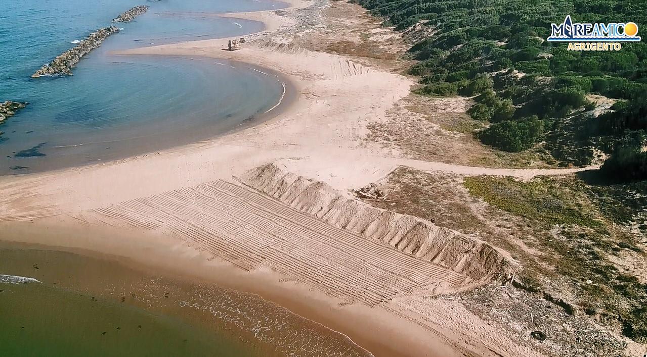 Dune costiere distrutte ad Agrigento, aperta inchiesta e indagine conoscitiva per ricostruire l'accaduto