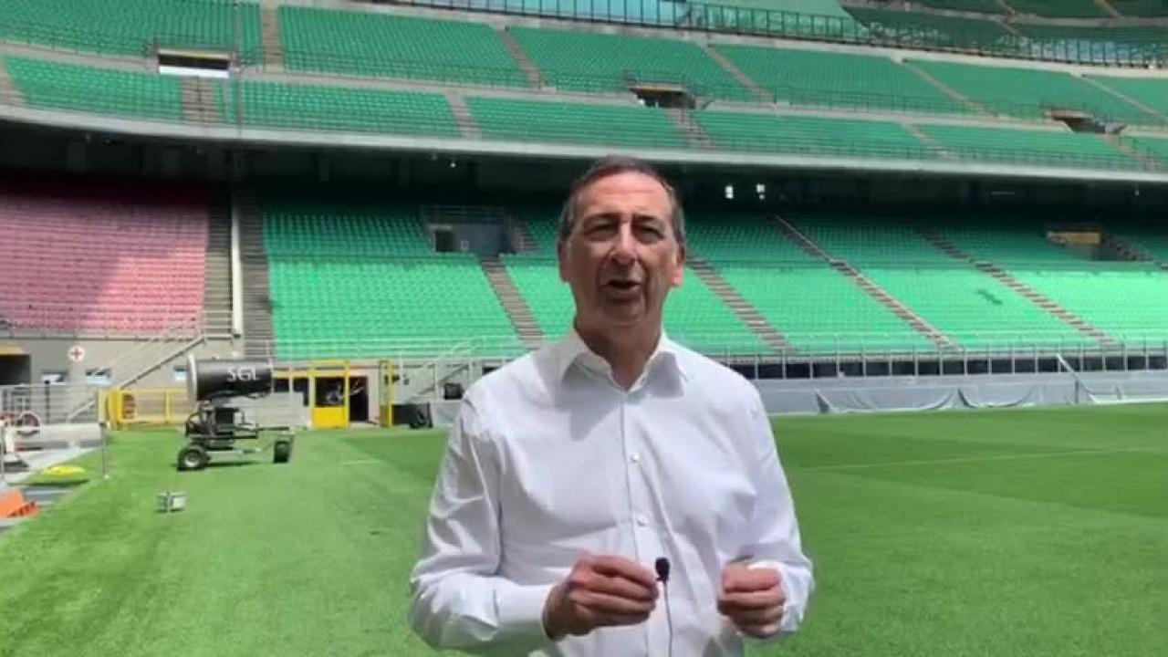 Italia-Germania 4-3, Sala intervista Boninsegna