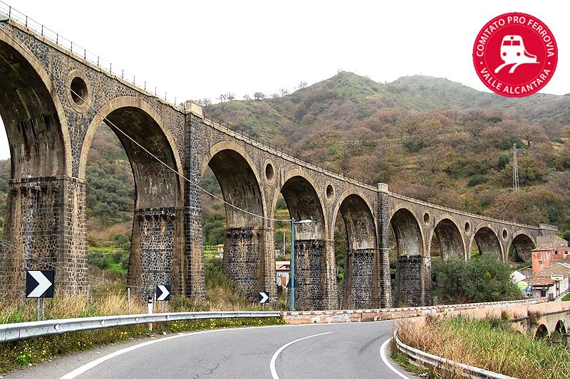 Rilancio sistema ferroviario valle dell'Alcantara: nasce il Comitato pro Ferrovia