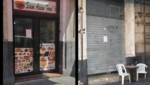 Catania ignora il rischio di nuovi contagi, controlli della municipale: proprietari di alcuni locali sanzionati