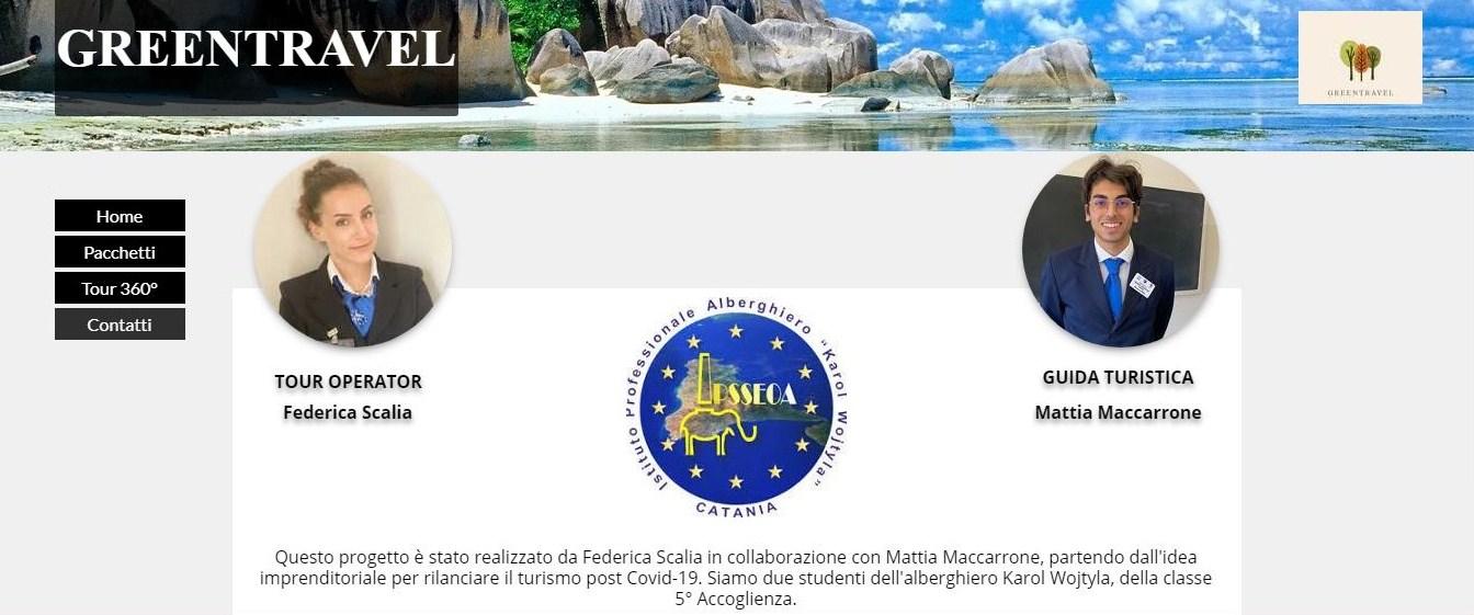 """""""Visit Catania at 360°"""" e """"Greentravel"""": il turismo del futuro al """"Karol Wojtyla"""" di Catania"""