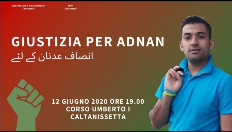 Caltanissetta, oggi si manifesta per chiedere giustizia sull'omicidio di Adnan Siddique