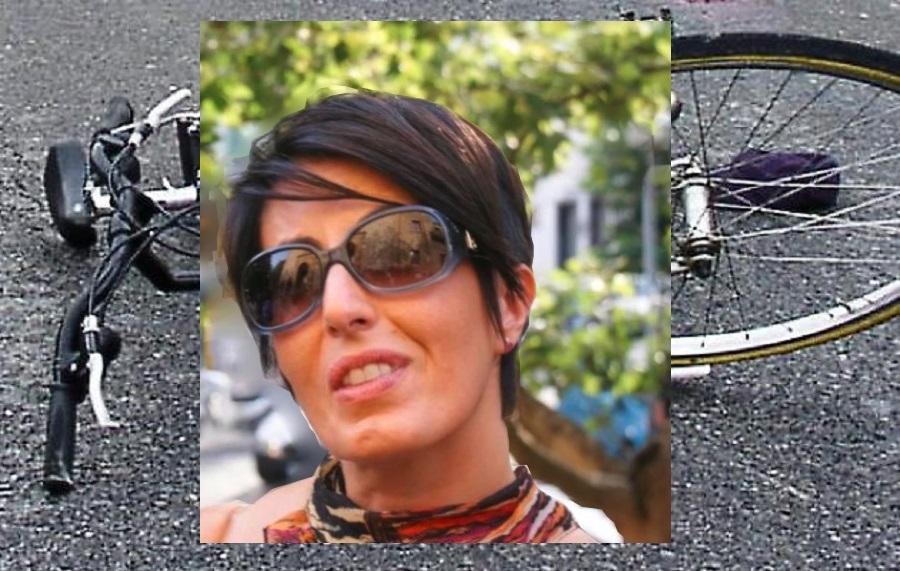 """Ciclista travolta da un'auto, perde la vita la dottoressa Laura La Malfa. """"Un angelo in più in paradiso"""""""