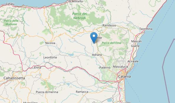 Trema la terra nel Catanese, scossa di magnitudo 2.8 alle pendici dell'Etna