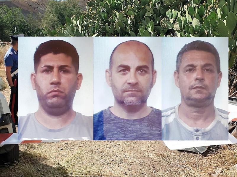 Sorpresi a smantellare auto rubate nelle campagne del Catanese: 3 arresti – NOMI e FOTO