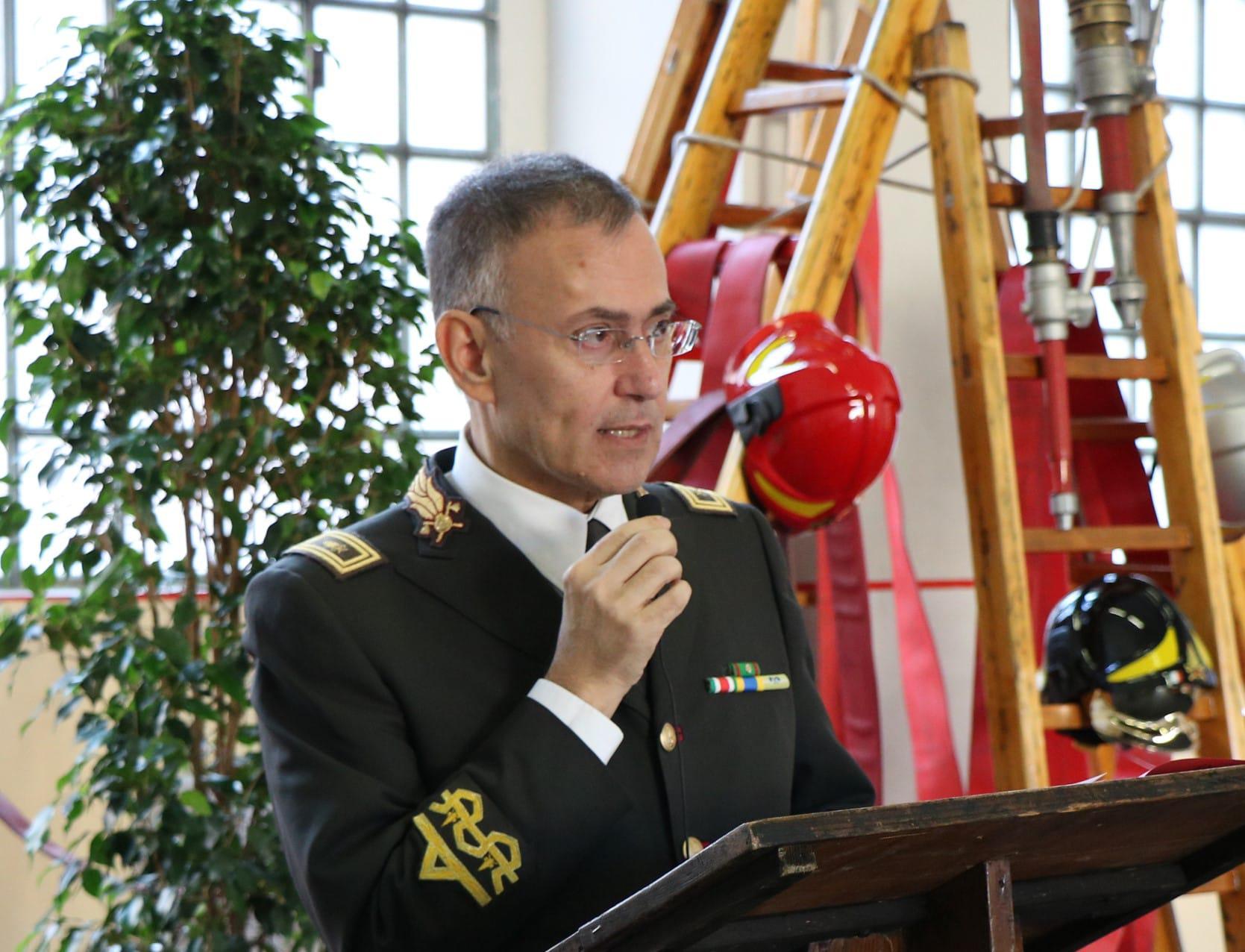 Maurizio Lucia nuovo direttore dei vigili del fuoco per la Sicilia