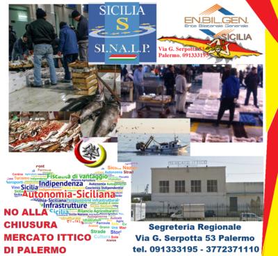 """Chiusura del Mercato Ittico per lavori, Sinalp ed Enbilgen Sicilia denunciano: """"Si rischia la scomparsa del comparto"""""""