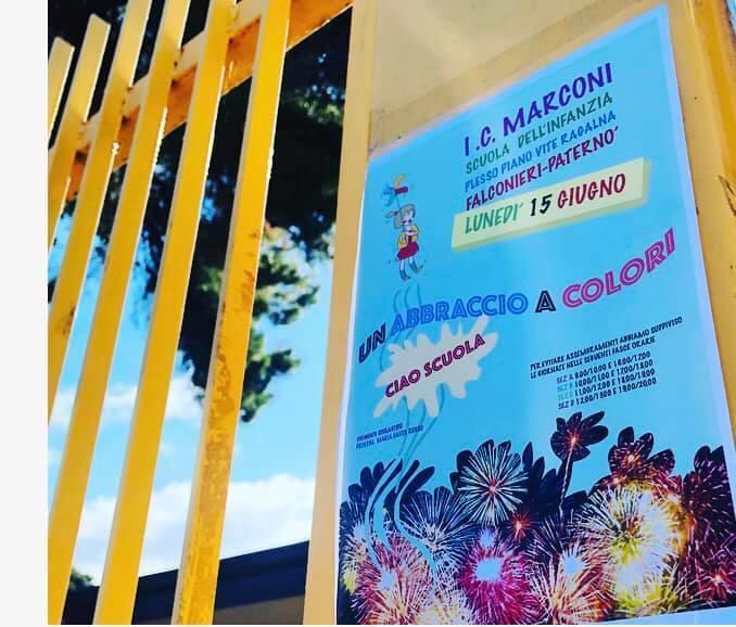 """Un abbraccio a colori… all'Istituto Comprensivo """"Marconi"""" di Paternò e Ragalna – FOTO e VIDEO"""