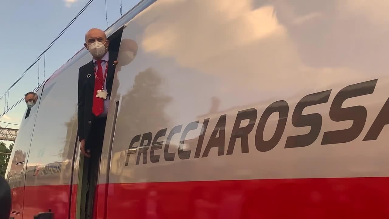 Fs, l'Alta Velocità arriva a Frosinone e Cassino