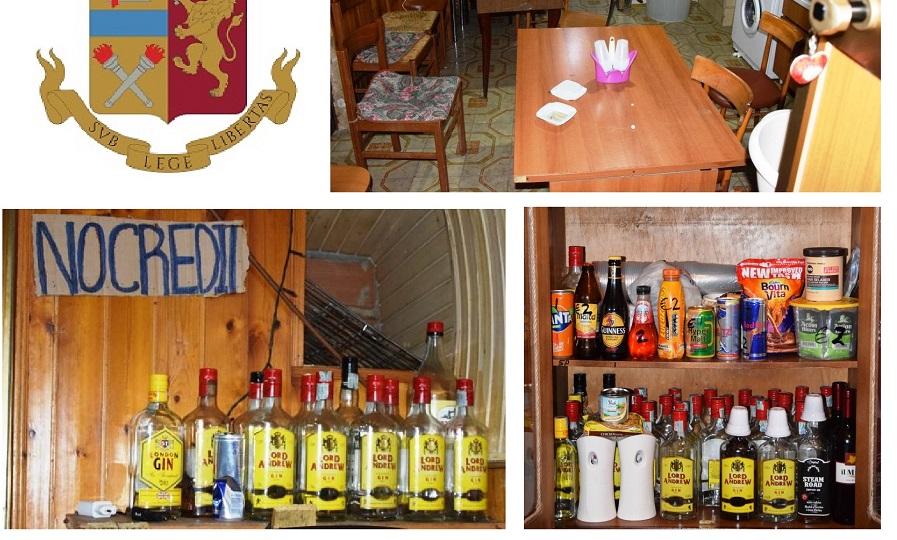 Abitazione trasformata in osteria abusiva: maxi sequestro di bottiglie di alcolici e multe fino a 24mila euro