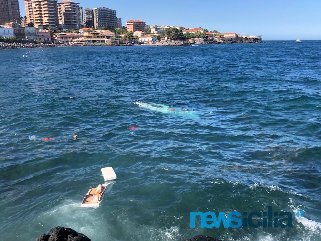 Due barche affondate a Ognina: sommozzatori in azione, ancora nessuna certezza su eventuali dispersi- FOTO e VIDEO