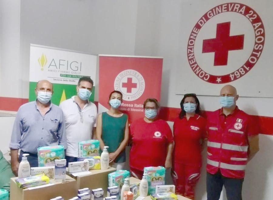 Solidarietà dalle Fiamme Gialle e dalla Farmacia Brancato: aiuto alle famiglie in difficoltà