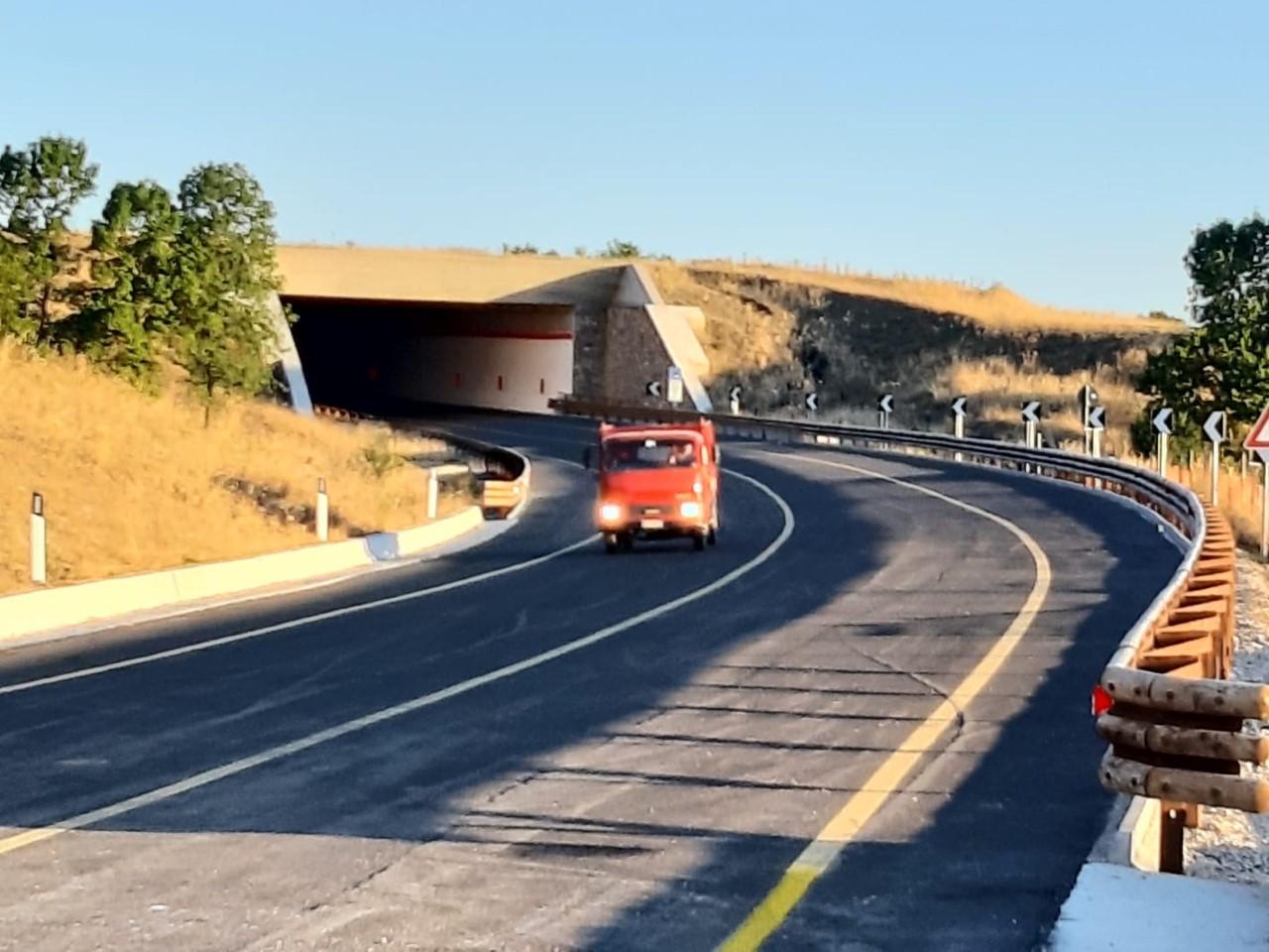 Viabilità in Sicilia, aperto al traffico nuovo tratto dell'itinerario Nord-Sud