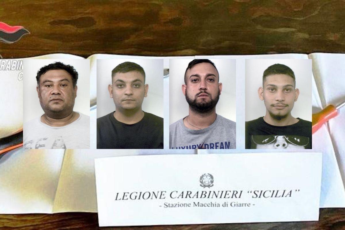 Case depredate nel Catanese da banda di ladri in trasferta: 4 arresti – NOMI e FOTO
