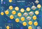 Meteo, in Sicilia leggero calo delle temperature nel weekend: massimo 32 gradi sull'isola
