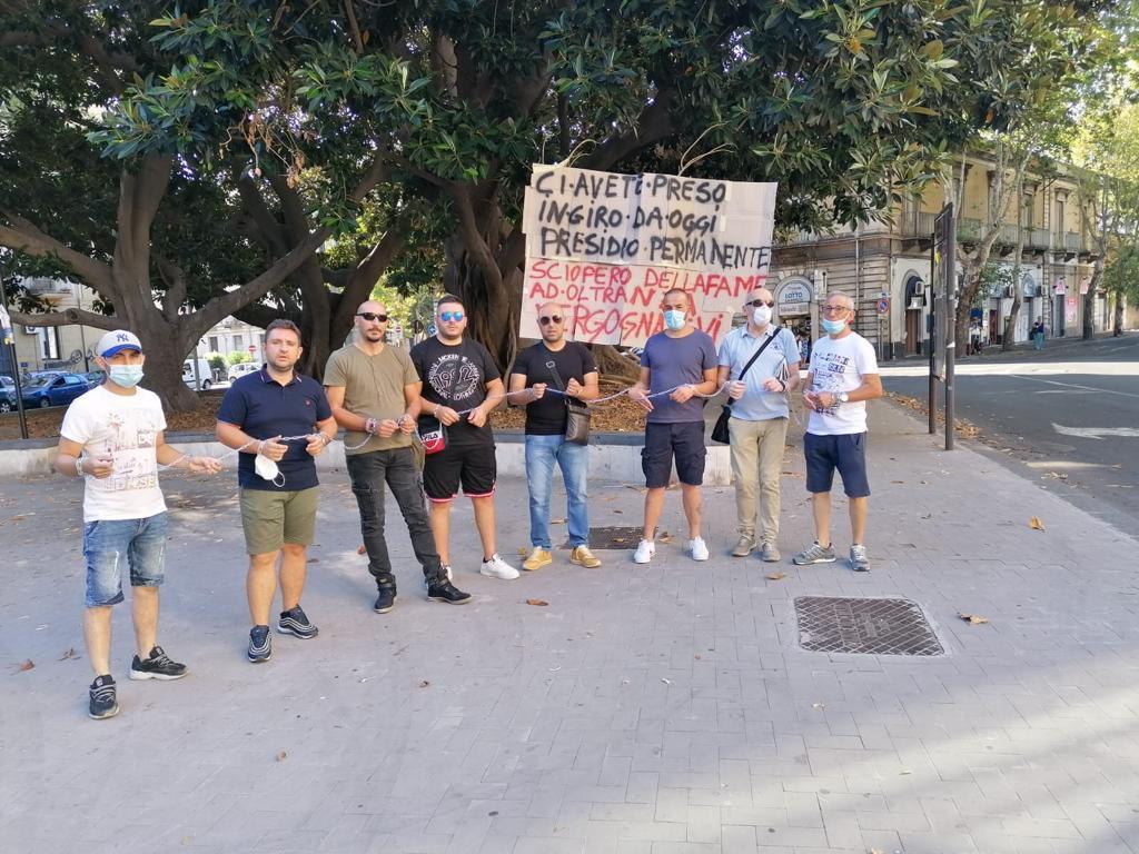 Catania, continua la protesta degli autisti-soccorritori dell'ex One Emergenza
